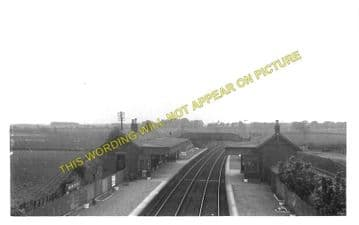Mawcarse Railway Station Photo. Milnathort to Glenfarg and Gateside Lines. (1)
