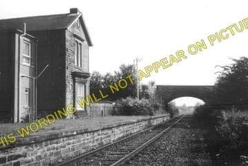 Maxwelltown Railway Station Photo. Dumfries - Lochanhead. (1)