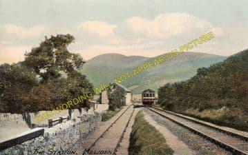 Meliden Railway Station Photo. Dyserth - Rhuddlan Road. Rhyl Line. L&NWR. (1)..