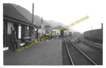 Menstrie Railway Station Photo. Cambus - Alva. North British Railway. (1)