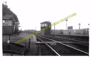 Millisle Railway Station Photo. Newton Stewart to Garlieston and Whithorn. (3)