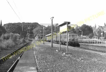 Milngavie Railway Station Photo. Hillfoot, Bearsden and Westerton Line. NBR. (5)