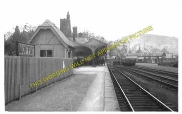 Moffat Railway Station Photo. Beattock Line. Caledonian Railway. (4)