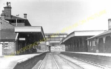 Mold Railway Station Photo. Rhydymwyn to Coed Talon and Llong Lines. L&NWR. (5)