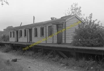 Morcott Railway Station Photo. Luffenham - Seaton. Market Harborough Line. (2)