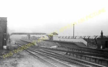 Mostyn Railway Station Photo. Talacre - Holywell. Prestatyn to Flint. L&NWR (1)