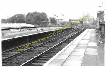 Mostyn Railway Station Photo. Talacre - Holywell. Prestatyn to Flint. L&NWR (3)