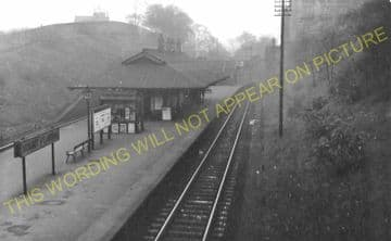Mount Florida Railway Station Photo. Glasgow - Cathcart. Caledonian Railway (8).