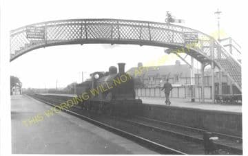 Nairn Railway Station Photo. Gollanfield - Auldearn. Forres Line. Highland (3)