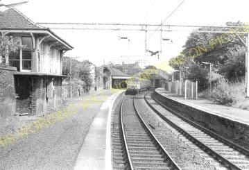 Neilston High Railway Station Photo. Uplawmoor - Netherton. Caledonian Rly. (3)