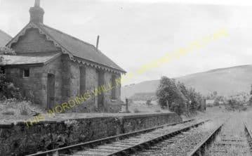 New Radnor Railway Station Photo. Dolyhir, Stanner, Kington and Titley Line. (5)