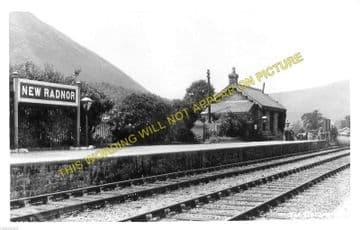 New Radnor Railway Station Photo. Dolyhir, Stanner, Kington and Titley Line. (6)