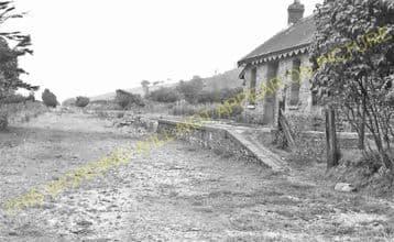 New Radnor Railway Station Photo. Dolyhir, Stanner, Kington and Titley Line. (7)