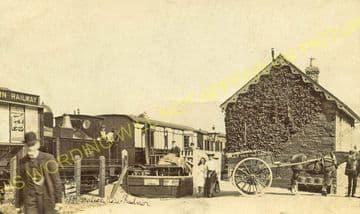 New Radnor Railway Station Photo. Dolyhir, Stanner, Kington and Titley Line. (9)