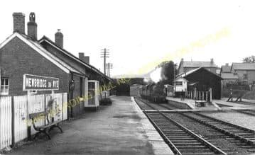 Newbridge-on-Wye Railway Station Photo. Builth Wells - Rhayader. Cambrian. (3)
