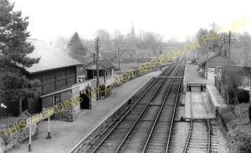 Newbridge-on-Wye Railway Station Photo. Builth Wells - Rhayader. Cambrian. (5)
