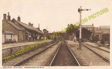 Newbridge-on-Wye Railway Station Photo. Builth Wells - Rhayader. Cambrian. (7)