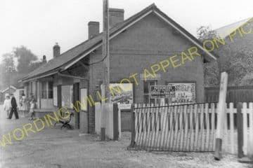 Newbridge-on-Wye Railway Station Photo. Builth Wells - Rhayader. Cambrian. (8).