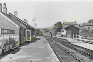 Newbridge-on-Wye Railway Station Photo. Builth Wells - Rhayader. Cambrian. (9).