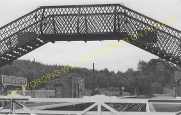 Newcastleton Railway Station Photo. Kershope Foot - Steele Road. (6)