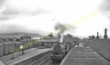 Newton Stewart Railway Station Photo. Portpatrick & Wigtownshire Joint Rly. (2)