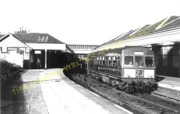 North Berwick Railway Station Photo. Dirleton and Drem Line. North British. (8)