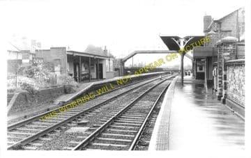 Oakham Railway Station Photo. Manton - Ashwell. Luffenham to Saxby Line. (2)