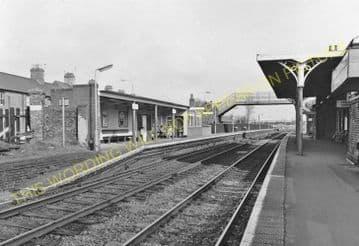 Oakham Railway Station Photo. Manton - Ashwell. Luffenham to Saxby Line. (7)