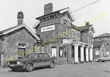 Oakham Railway Station Photo. Manton - Ashwell. Luffenham to Saxby Line. (8)