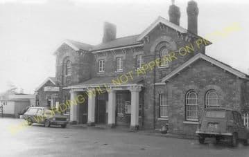 Oakham Railway Station Photo. Manton - Ashwell. Luffenham to Saxby Line. (9).