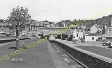 Oban Railway Station Photo. Connel Ferry Line and Taynuilt Line. Caledonian (31).