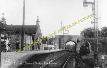 Ormiston Railway Station Photo. Smeaton to Pencaitland and Macmerry Lines. (1)