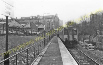 Paisley Canal Railway Station Photo. Glasgow & South Western Railway. (3)