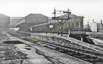 Paisley Gilmour Street Railway Station Photo. Caledonian Railway and G&SWR. (2)