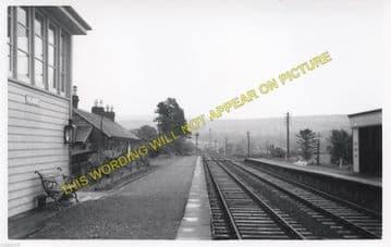 Palnure Railway Station Photo. Creetown - Newton Stewart. P&WJ Railway (1)