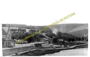 Peebles West Railway Station Photo. Lyne and Stobo Line. Caledonian Railway (3)