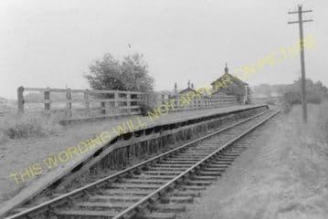Pencaitland Railway Station Photo. Ormiston - Saltoun. Gifford Line. (1)