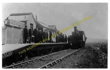 Pentraeth Railway Station Photo. Ceint - Llanbedr Goch. Holland Arms Line. (1)..