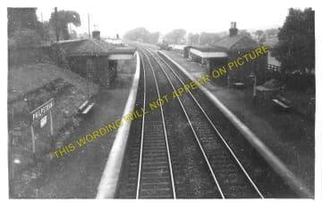 Philpstoun Railway Station Photo. Linlithgow - Winchburgh. Edinburgh Line. (1).