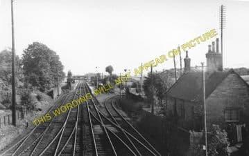 Plean Railway Station Photo. Larbert - Bannockburn. Stirling Line. (1).