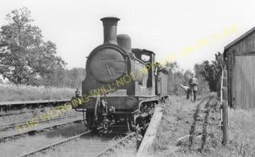 Port of Menteith Railway Station Photo. Buchlyvie - Kippen. (1)..