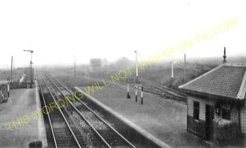 Portessie Railway Station Photo. Buckie - Findochty. Elgin to Portsoy. GNSR. (2)