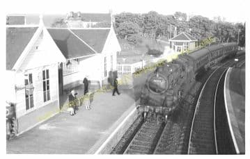Portsoy Railway Station Photo. Tillynaught- Glassaugh. Cairnie to Portessie. (7)
