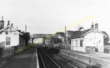 Prestonpans Railway Station Photo. Longniddry - Inversek. Edingburgh Line. (2)