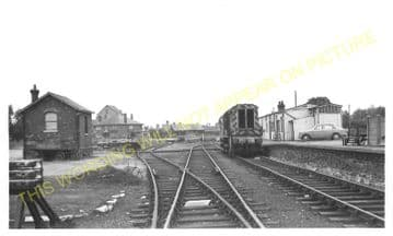 Ramsey North Railway Station Photo. St. Mary's and Holme Line. GNR. (3)