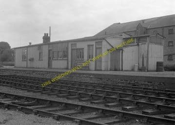Ramsey North Railway Station Photo. St. Mary's and Holme Line. GNR. (4)