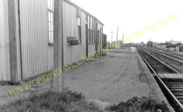 Ramsey North Railway Station Photo. St. Mary's and Holme Line. GNR. (7)