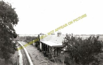 Rathven Railway Station Photo. Buckie - Drybridge. Portessie to Keith Line. (1)