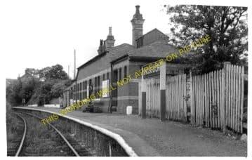 Rhosgoch Railway Station Photo. Amlwch - Llanerchymedd. Holland Arms Line. (1)