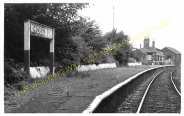 Rhosgoch Railway Station Photo. Amlwch - Llanerchymedd. Holland Arms Line. (2).